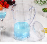 Boa qualidade de impressão a cores de mistura transparentejarra plástica definido