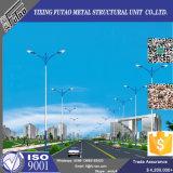 10msolar sólido poste de luz de la calle LED