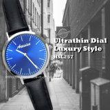 Het super Dunne IP Horloge van het Merk van de Minnaars van het Paar van het Geval van de Legering van het Plateren