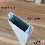 El grano de madera Pintura de cristal Grossy perfil de aluminio para muebles de decoración