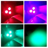 controllo dell'indicatore luminoso DMX di PARITÀ di 3PCS LED