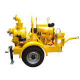 No obstruir de autocebado Bomba de motor Diesel horizontal