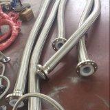 Tubo di PTFE con le intrecciature dell'acciaio inossidabile