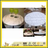 De stevige Marmeren Koffietafel van het Ontwerp van de Douane van de Steen van de Oppervlakte