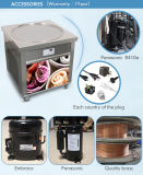 UL ETL 70cm鍋はアイスクリームロール機械を揚げた