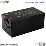 Batería de plomo ácido 12V 135AH VRLA baterías AGM para Solar/RV/carro de golf