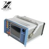 流れおよび電圧二次注入のリレーテストセット上の6段階