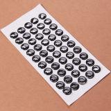 Sinicline Venta caliente personalizado de plástico adhesivo sello repujado Oval