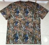 De T-shirt van de camouflage met Zak en Band
