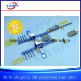 Automatico macchina facente fronte di perforazione di taglio del plasma di tutto il di profilo quadrato del tubo CNC della struttura d'acciaio/fascio