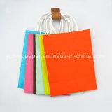 Venta caliente bolsa de papel Kraft Color sólido