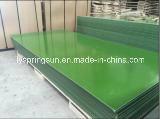 12mmの緑のプラスチックフィルムは合板に直面した