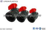 Vávula de bola industrial del PVC CPVC Dn45