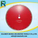 El diamante de Romatools vio las láminas para el concreto reforzado, concretas con las barras