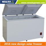 congélateurs solaires de surgélateur de congélateur solaire de poitrine de C.C 433L