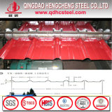 Prepainted цветом Corrugated гальванизированный стальной лист толя