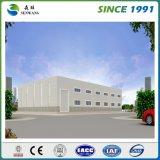 Facile assembler les Chambres de construction préfabriquée de structure métallique de coût bas