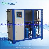 Refrigeratore di acqua industriale raffreddato ad acqua del refrigeratore della macchina di plastica
