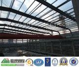 Gruppo di lavoro prefabbricato chiaro della struttura d'acciaio di basso costo