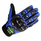 Голубые перчатки мотовелосипеда новой модели для Motocross (MAG24)