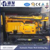 Hfj300c Type de véhicule à chenilles de l'eau plate-forme de forage de puits