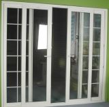 La vente chaude bon marché étanche/Chaleur-Isolent/portes coulissantes insonorisées de PVC avec le prix départ usine
