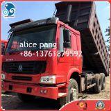 Autocarro con cassone ribaltabile di pietra di consegna HOWO della sabbia per l'autocarro con cassone ribaltabile di Sinotruk del rifornimento
