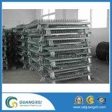 Recipiente ou gaiola galvanizada de armazenamento para o armazenamento