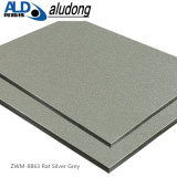 PE /PVDF enduisant le panneau composé en aluminium (gris argenté de rat ZWM-8863)