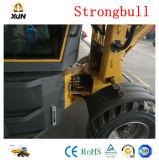 Mini cargador de la rueda del material agrícola Zl08 con Ce