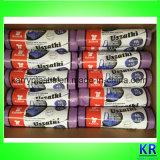 Хозяйственные сумки полиэтиленовых пакетов тенниски HDPE на крене