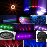 19PCS X 15W Nova Versão LED Moving Head Light Efeito Big Eye Beam Wash