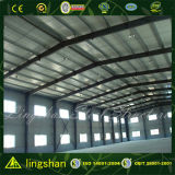 Edificio moderno del taller de la estructura de acero