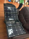 Camping plegable 100 vatios de paneles solares para la caravana