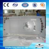Glace en verre d'impression d'écran en soie de Tsing