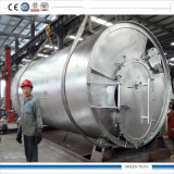 Máquinas de Reciclagem de Pneus usados tornando o óleo dos pneus