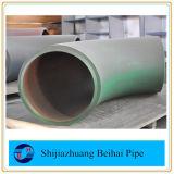 La norme ANSI B16.9 sch40 A234 Wpb Raboutage le coude du raccord de tuyau en acier au carbone
