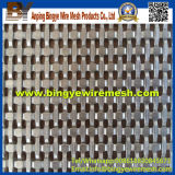 Maillage décoratif en acier inoxydable utilisé pour les vitrines de magasin