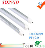 Alto tubo chiaro superiore luminoso T8 LED di 18W 1200mm