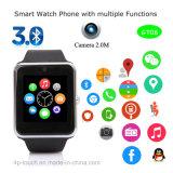Smart montre téléphone portable avec fente pour carte SIM (GT08)