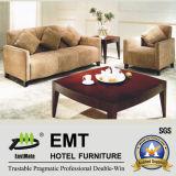 Sofa confortable et confortable de salle de séjour de meubles d'hôtel réglé (EMT-SF10)