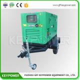 Gerador de refrigeração água do móbil 1500rpm de Keypower 50kVA