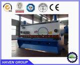 Máquina de corte da guilhotina QC11Y-12X2500 hidráulica, máquina de estaca da placa de aço