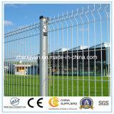 Le prix le plus inférieur a galvanisé le panneau soudé de frontière de sécurité de treillis métallique (le constructeur)
