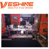 1L 2cavityのプラスチックびんを作るペット吹く機械