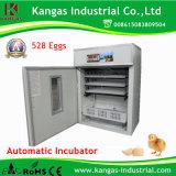 Oeuf solaire incubateur pour 528 oeufs Kp-8 couveuse automatique