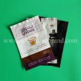 Мешок плоского дна для порошка кофеего кофейного зерна