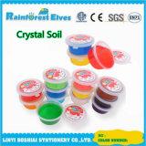 Las ventas de arcilla caliente de cristal se usa en juguetes educativos