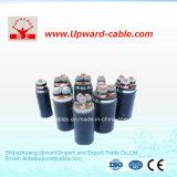 4 conducteurs isolés de PVC en polyéthylène réticulé les câbles de puissance électrique