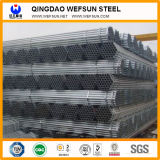 El carbono de tubos de acero estructural Pre-Galvanized ronda